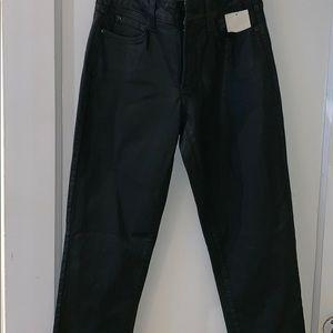 NYDJ olive green Jeans straight legs